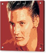 Elvis Presley - The King Acrylic Print