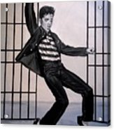 Elvis Presley Jailhouse Rock Acrylic Print