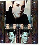 Elvis Presley Montage Acrylic Print
