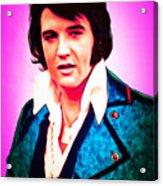 Elvis Presley The King 20160117 Acrylic Print