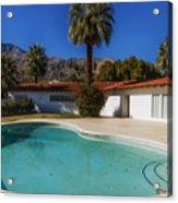 Elvis Presley's Palm Springs Home Acrylic Print
