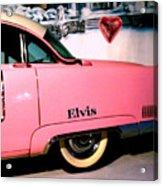 Elvis's Pink Cadillac Acrylic Print