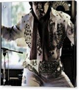 Elvis....sort Of Acrylic Print