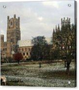 Ely Cambridgeshire, Uk.  Ely Cathedral  Acrylic Print