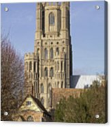 Ely Cathedral West Tower Acrylic Print