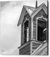 Ely Vermont Barn 1899 Barn Cupola Acrylic Print