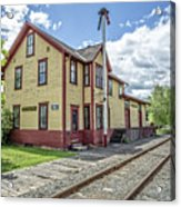 Ely Vermont Train Station Acrylic Print