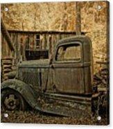 Ely's Mill Dodge Acrylic Print