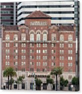 Embarcadero Ymca Building In San Francisco, California Acrylic Print