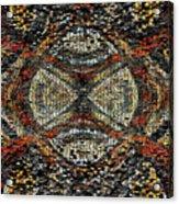 Embellished Texture Acrylic Print