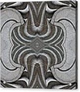 Embellishment In Concrete Acrylic Print