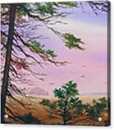 Embrace Of Dawn Acrylic Print