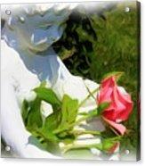 Embracing Angel Acrylic Print