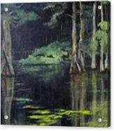 Emerald Bayou Acrylic Print