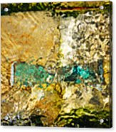 Emerald Bow Acrylic Print