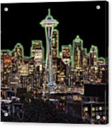 Emerald City Acrylic Print