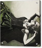 Emerald Depths  Acrylic Print