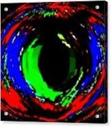 Emerald Eye Acrylic Print