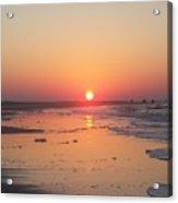 Emerald Isle Sunrise Acrylic Print