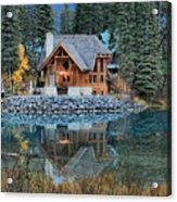 Emerald Lake Cilantro Acrylic Print