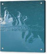 Emerald Lake Glacier Waters Acrylic Print