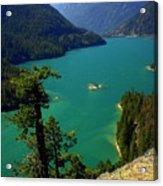 Emerald Lake Acrylic Print