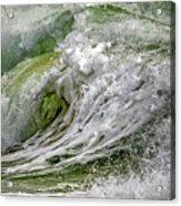 Emerald Storm Acrylic Print