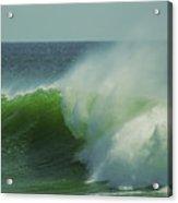 Emerald Waters Acrylic Print