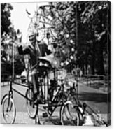 Emett: Lunacycle, 1970 Acrylic Print by Granger