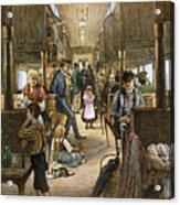 Emigrant Coach Car, 1886 Acrylic Print