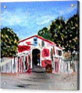 Emiles Road Side Grocer Acrylic Print