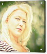 Emily #1 Royal Holden Acrylic Print