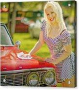 Emily #2 Royal Holden Acrylic Print