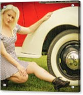 Emily #5 Royal Holden Acrylic Print