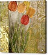 Emily Damask Tulips IIi Acrylic Print