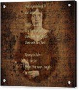 Emily Dickinson 4 Acrylic Print