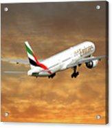 Emirates Boeing 777-36n 2 Acrylic Print