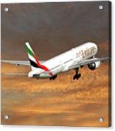 Emirates Boeing 777-36n 3 Acrylic Print