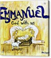 Emmanuel Acrylic Print