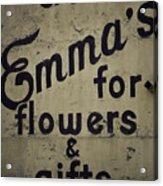 Emma's Acrylic Print