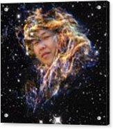 Emma's Spacewalk Acrylic Print