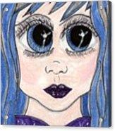 Emo Girl I Acrylic Print