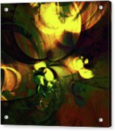 Emotion In Light Abstract Acrylic Print