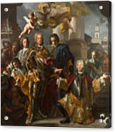 Emperor Charles Vi And Gundacker, Count Althann Acrylic Print