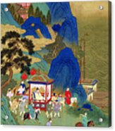 Emperor Chin Wang Ti Acrylic Print