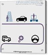 Empire Auto Transport Services Acrylic Print
