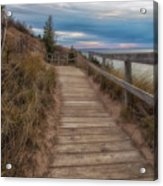 Empire Bluffs 3 Acrylic Print