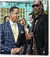Empire Lucious And Snoop Dog Acrylic Print