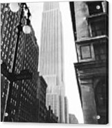 Empire State Building, 1931 Acrylic Print