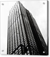 Empire State Building 1950s Bw Acrylic Print